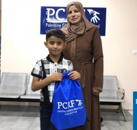 Gaza Boy Arrives In Ohio For Surgery