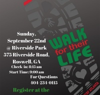 PCRF – ATLANTA 5K WALK FOR THEIR LIFE