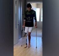 Injured Gaza Boy Getting Closer to Walking Again