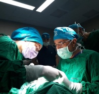 Maxillofacial Surgery Team Operates in Hebron
