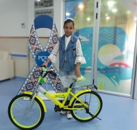 """Make a Wish"" Program Provides Yasmine in Gaza a Bike"