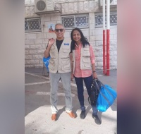 Australian Couple Return to Nablus