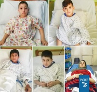 Five Refugee Children Soonsored for Surgery I'm Lebanon
