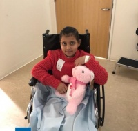 Gaza Girl Returns To LA for Treatment