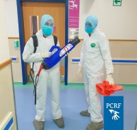 PCRF Provides Sterilization Services to Cancer Patients in Gaza