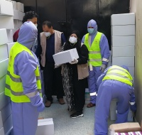 Over 400 Infection Control Kits Delivered to Quarantined Centers in Gaza