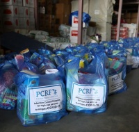 PCRF provides over 200 families urgent humanitarian aid to fight Covid-19 in Gaza