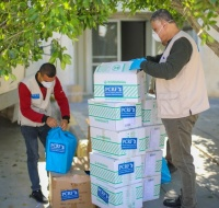 PCRF Supplies Gaza ICU with Urgent Supplies