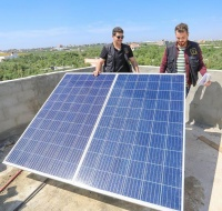 Solar power provided for Chronically suffering children in Gaza
