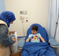 Eid Gifts for Children In our Cancer Department