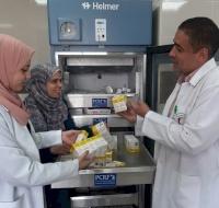 PCRF Send Urgent Chemo Drugs to Gaza