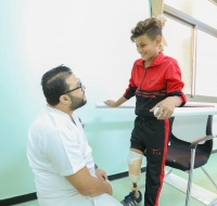 Treating Amputees in Gaza