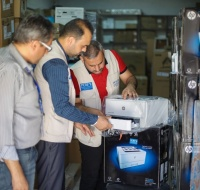 PCRF and Italian Chapter Provide IT Support for Primary Health Clinics in Gaza