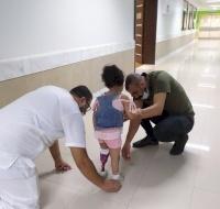 3-year-old Tala Gets Treatment in Gaza
