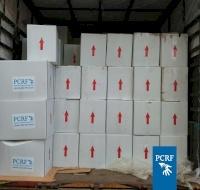 100 Urgent Parcels for Refugees in Al Bus Camp
