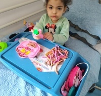 Nawal from Gaza Takes Physiotherapy