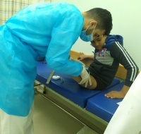 Waseem Continues Treatment at Hamad Hospital