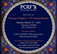 PCRF-Chicago Chapter's 13th Annual Fundraising Event (A Virtual Benefit)