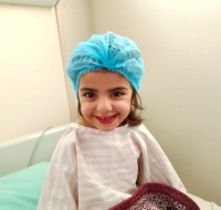 Syrian Refugee Girl Has Surgery in Jordan