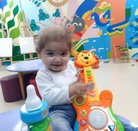 Alma Returns to Gaza for Follow-up Care