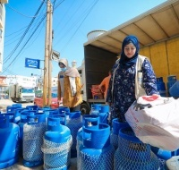 PCRF Distributes Stoves and Gas Cooking Cylinders