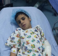 Syrian Boy Sponsored for Surgery in Jordan