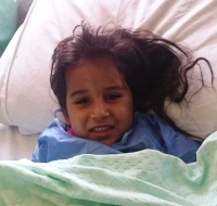 Syrian Bedouin Child has Surgery in Jordan