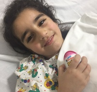 Syrian Girl Has Surgery in Jordan