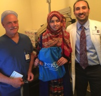 West Bank Girl Begins Ophthalmic Care in Bay Area
