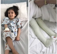 Syrian Refugee Recovering from Surgery in Jeddah