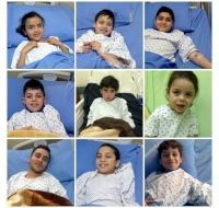 Nine Syrian Refugee Children Treated in Lebanon