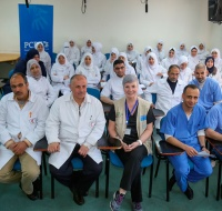 Canadian Nurse Provides Training and Teaching in Gaza