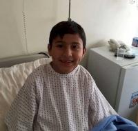 Syrian Refugee Has Surgery in Jordan