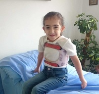 Syrian Refugee Recovering From PCRF Life-Saving Support