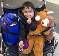 Gazan Boy Returns Home After Major Surgery in Chicago