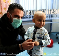 Arab Idol Winner Yacoub Shaheen Visits PCRF Cancer Department