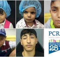 Five Refugee Children Sponsored for Surgery in Jordan
