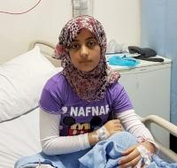 Syrian Refugee Underwent Surgery in Jordan