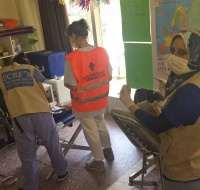 PCRF Sends Mission from Palestine to Treat Refugees in Greece