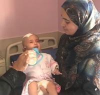 PCRF Sponsors Syrian Infant for Surgery in Jordan