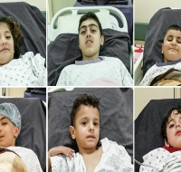 Six Syrian Children from Aleppo Sponsored for Surgery in Lebanon