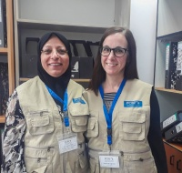 American Team Trains ICU nurses in Ramallah
