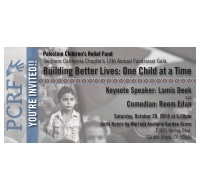 12th Annual Fundraiser Gala  Building Better Lives: One Child at a Time