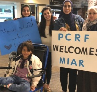 Young Gaza Girl Arrives in San Francisco for Prosthetic