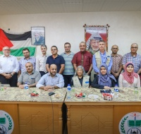 American Prosthetic Team in Gaza to Help Amputees