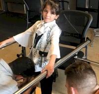 Palestinian Girl Learns To Walk Again