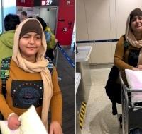 Gaza Teen Returns Home