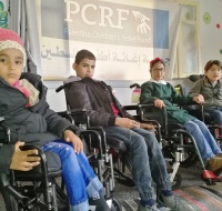 Wheelchairs Distributed in Gaza