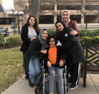 Palestinian Girl Recovering After Major Spine Surgery