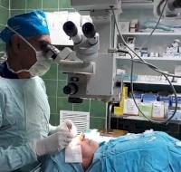 Australian Eye Surgeon Returns to Nablus